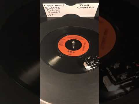 Download Tina Charles - Love Bug / Sweets For My Sweet ( Vinyl 45 ) From 1977 .