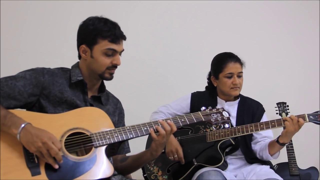 Pani Da Rang Instrumental Guitar Cover By Mrs.Madhuri u0026 Jatin !!! - YouTube