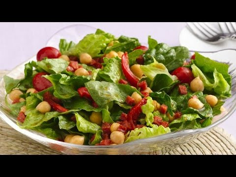 How To Make Tossed Green Salad