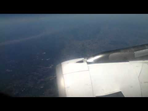 Air France A320 Approaching Biarritz