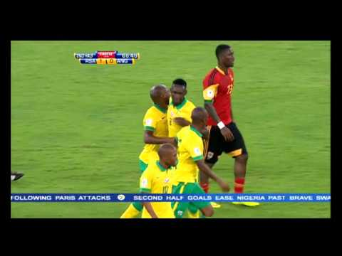 Bafana win against Angola in 2018 FIFA World Cup qualifier