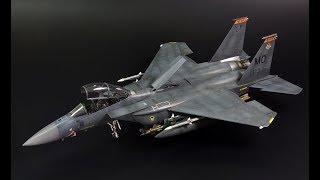 F-15E Strike Eagle - 1/72 scale GWH model kit - aircraft model