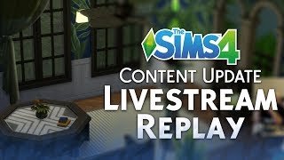 The Sims 4 Caribbean Update: Official Livestream Replay
