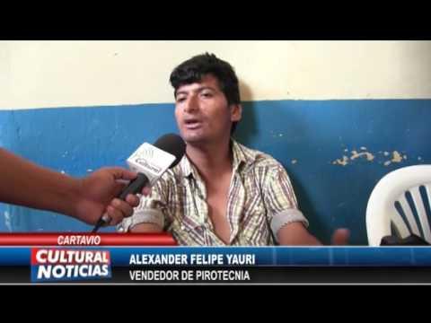 CARTAVIO: Realizan decomiso de pirotécnicos gracias a informe de Cultural Noticias