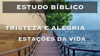 Estudo Bíblico - Alegria e tristeza estações da vida