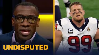 J.J. Watt & Texans mutually agree to part ways — Skip & Shannon discuss | NFL | UNDISPUTED