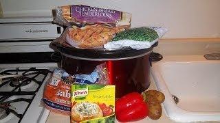 Crock-pot Recipe: Chicken And Vegetable Soup Made With Chicken Tenderloins