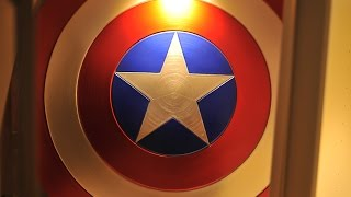 Captain America Shield Official Replica From eFX UNBOXING