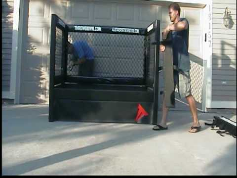Throwdown cage bed 3 youtube - Enclosed beds for adults ...