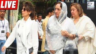 Shashi Kapoor's Prayer Meet | LIVE | LehrenTV