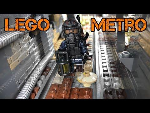 Самоделка МЕТРО 2033!! ЗАБРОШЕННЫЙ ТОННЕЛЬ! (Лего, 44 серия самоделок)