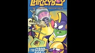 Opening to LarryBoy The Cartoon Adventures The Good The Bad and the Eggly 2003 VHS (Chordant)