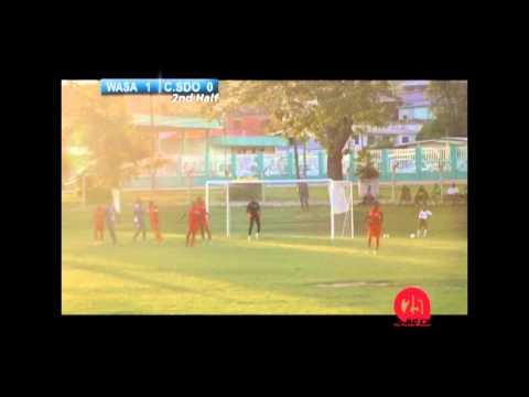 TTFA Super League Club Sando F.C. Vs. W.A.S.A. F.C.
