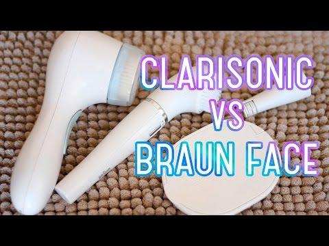 #Braun Face или Clarisonic - ЧТО ВЫБРАТЬ? #Очищение кожи ЩЕТОЧКОЙ ДЛЯ ЛИЦА.