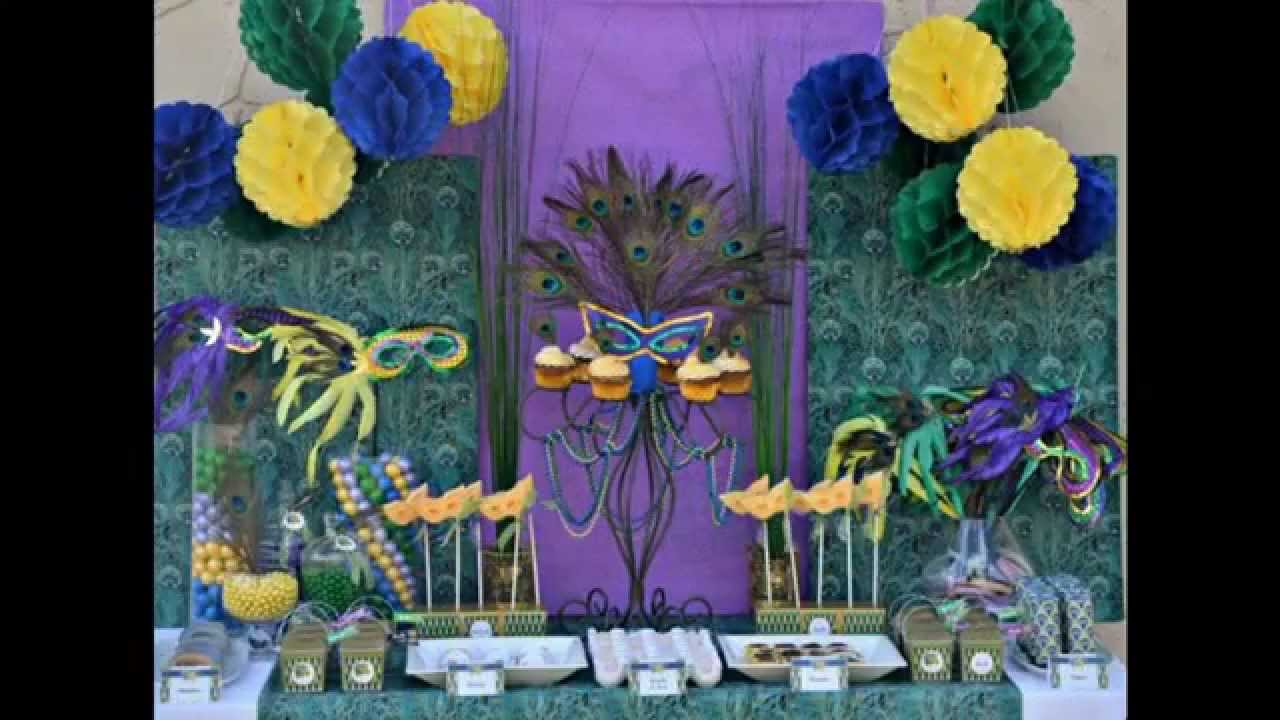 New Orleans Birthday Party Ideas