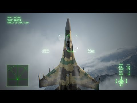 「ACE COMBAT(TM) 7: SKIES UNKNOWN」Game Feature Briefing Post Stall Maneuver