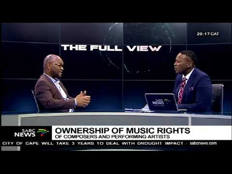 Arts and Culture Minister Mthethwa on the music rights ownership