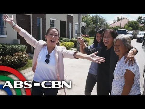 Rated K: OFW Juliet receives a free house and lot