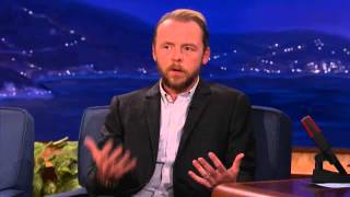 Simon Pegg Explains The 12 Stages Of Drunkenness