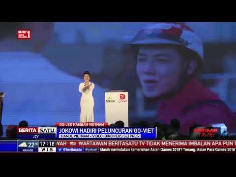Jokowi Hadiri Peluncuran Go-Viet di Hanoi