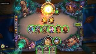 HearthStone - The Witchwood - Time-Tinker Clear, Full Run Infinite Toki
