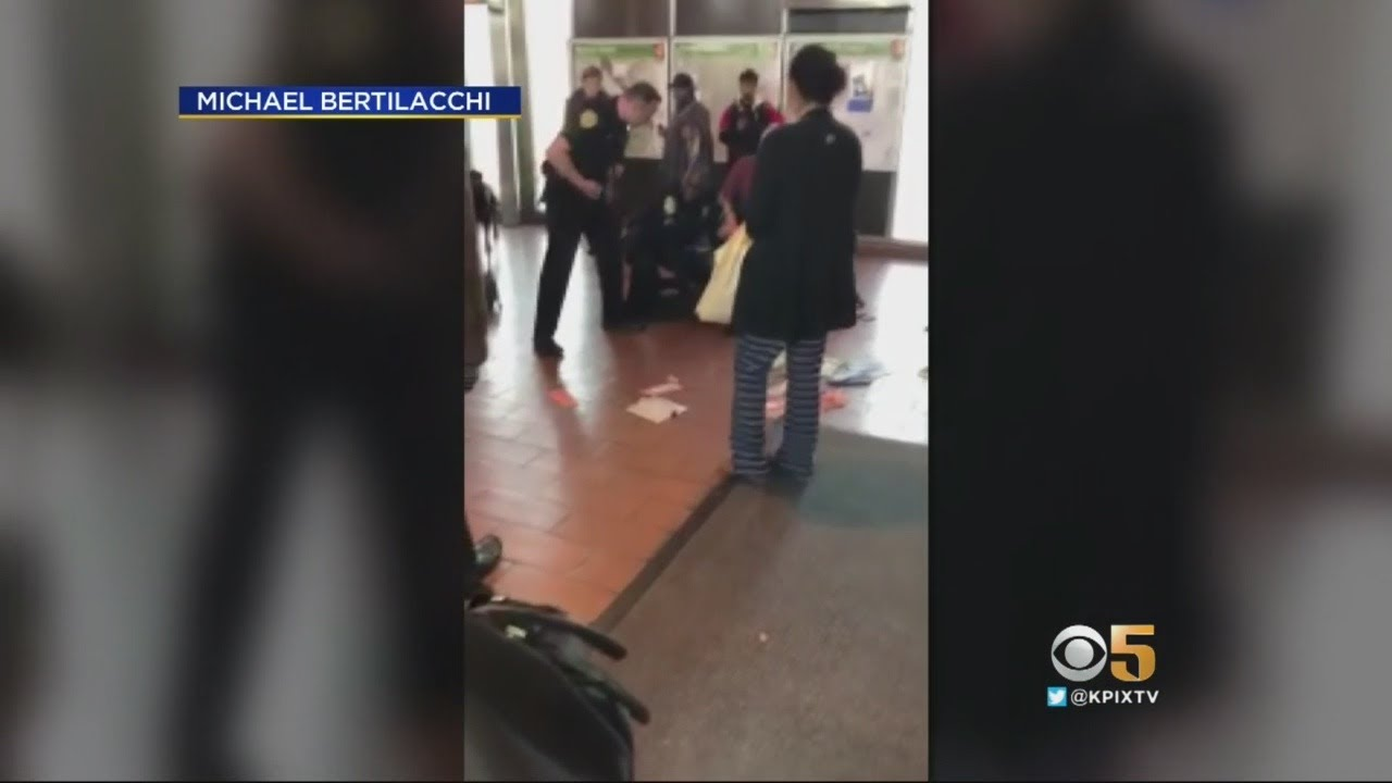 Bystanders Tackle Stabbing Suspect At Coliseum BART Station In Oakland