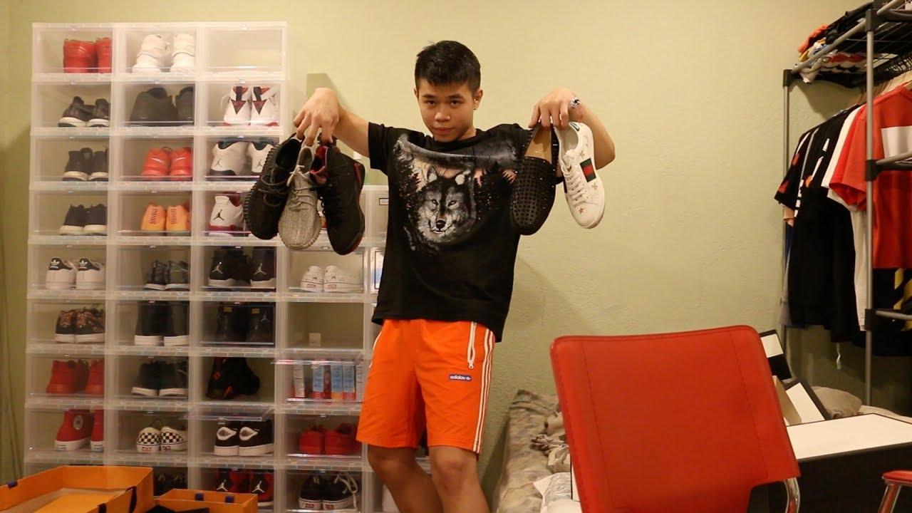 Dũng Lê's Sneaker Collection (CHRISTIAN LOUBOUTIN, GUCCI, YEEZY, JORDAN \u0026 MORE)