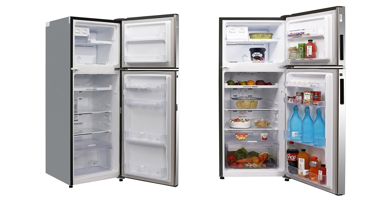 max obj cgtrader mtl refrigerator kitchenware models double fbx door household model