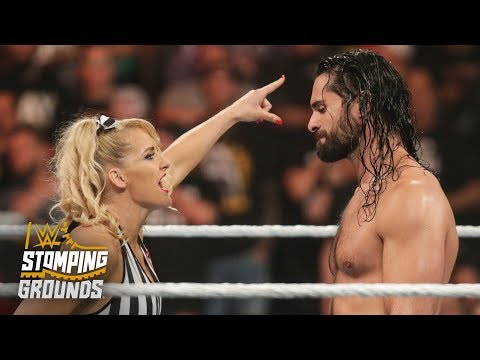 Lacey Evans angers Seth Rollins with slow count: WWE Stomping Grounds 2019 (WWE Network Exclusive)