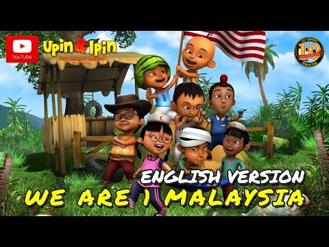 Upin & Ipin - We Are 1 Malaysia (English Version)