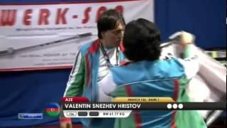 HRISTOV Valentin Snezhev 1s 136 kg cat. 62 World Weightlifting Championship 2013