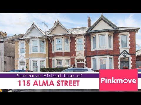 Pinkmove virtual tour of 115 Alma Street
