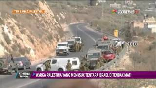 Warga yang Tusuk Tentara Israel Ditembak Mati