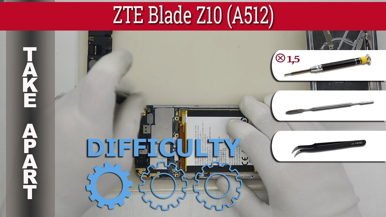 Zte Blade A512 Disassembly Videos - Waoweo