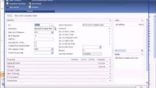 Microsoft Dynamics NAV: Introduction (Part 2 of 3)