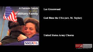 Lee Greenwood God Bless the USA arr M Taylor
