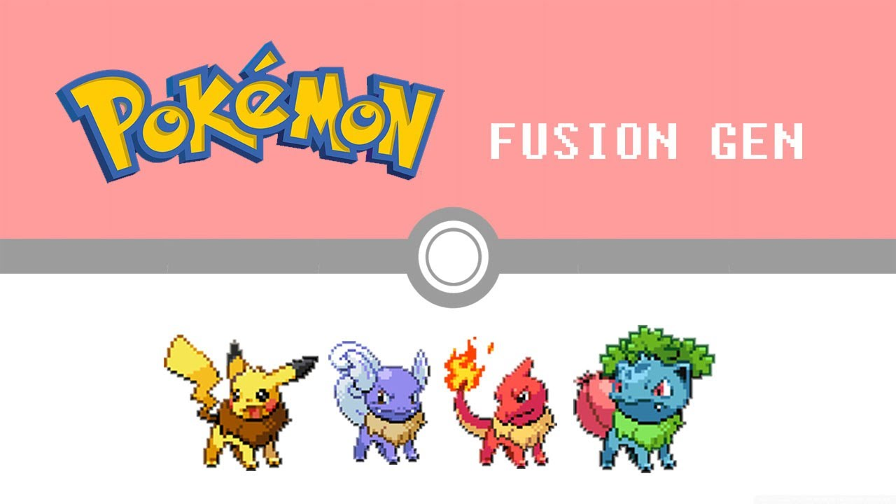 pokemon fusion generation part 1 youtube