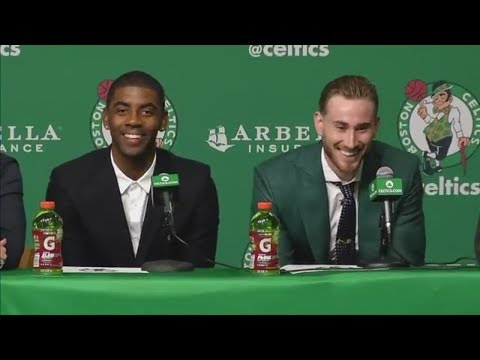 FULL Kyrie Irving and Gordon Hayward Boston Celtics introductory news conference  ESPN