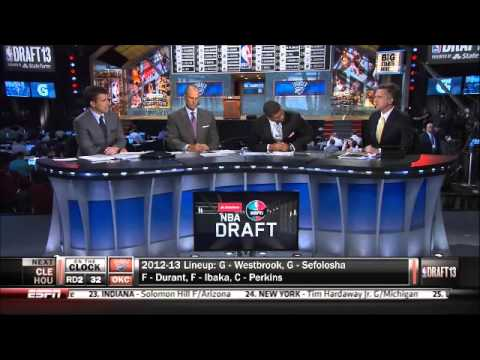 Simmons was great at the 2013 NBA Draft
