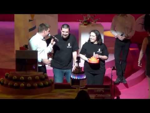 2013 - Wall-y et son gâteau - Coupe de France de robotique 2013
