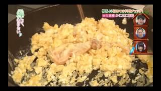 欅坂46の土生瑞穂ちゃんの初めてのかに玉作りです。