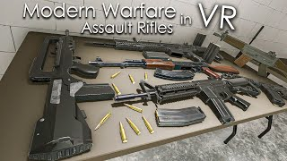 Modern Warfare Guns in VR - Assault Rifles