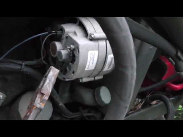 This Old Tractor Episode 1 Alternator Hook Up - YouTube
