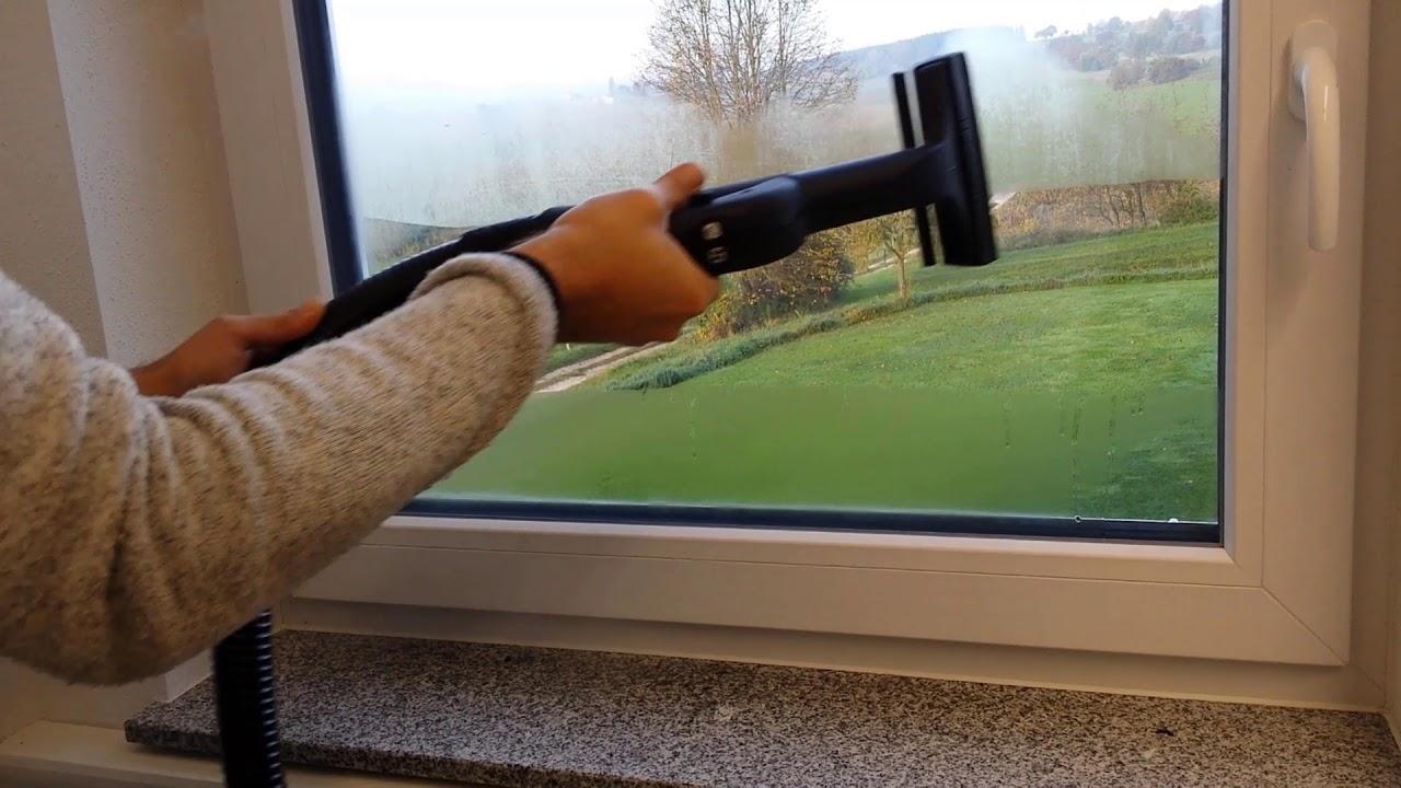 Relativ Fenster reinigen Dampfsauger Premium - YouTube KH94