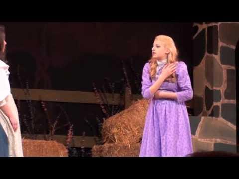 Jessie Gill as Ado Annie in Oklahoma