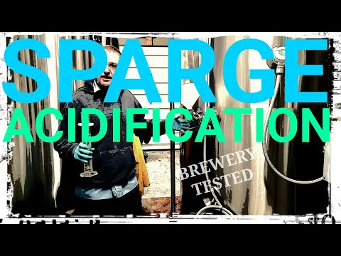 ACIDIFY SPARGE WATER!! How To: MICROBREWERY