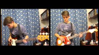 Toro Y Moi - Go With You (guitar & bass cover)