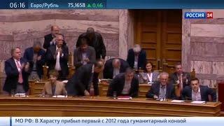 Новые меры экономии: Греция идет на
