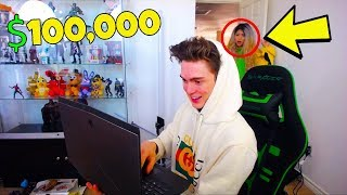 HACKING MY GIRLFRIEND'S ROBLOX ACCOUNT! *SHE CAUGHT ME!*