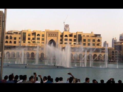 Burj Khalifa Dancing Water Fountain